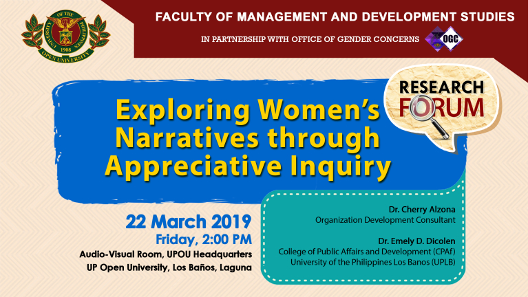 Exploring Women's Narratives Through Appreciative Inquiry