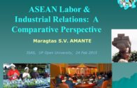 ASEAN Labor & Industrial Relations: A Comparative Perspective