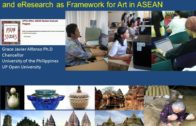 Capturing Orality and Visuality for eResearch, eTeaching and eLearning as Framework for Art in ASEAN