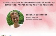 Effort In Birth Preparation Reduces Hours Of Birth Time: Proper Fetal Position For Birth