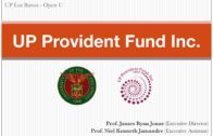 Financial Literacy Seminar: UP Provident Fund Inc.