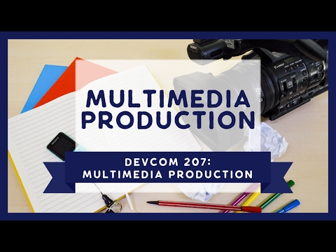 DevCom 207: Photography and Digital Photography