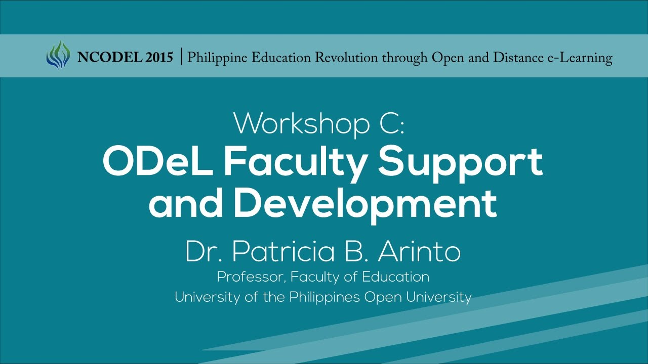 ODeL Faculty Support and Development