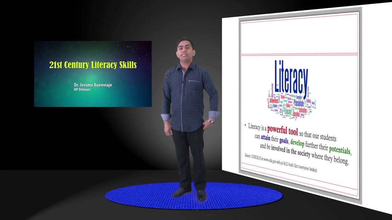 21st Century Literacy Skills | Dr. Jerome Buenviaje