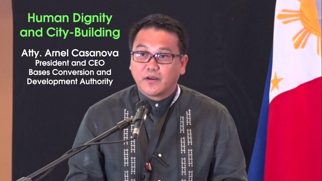 Human Dignity and City-Building | Atty. Arnel Casanova