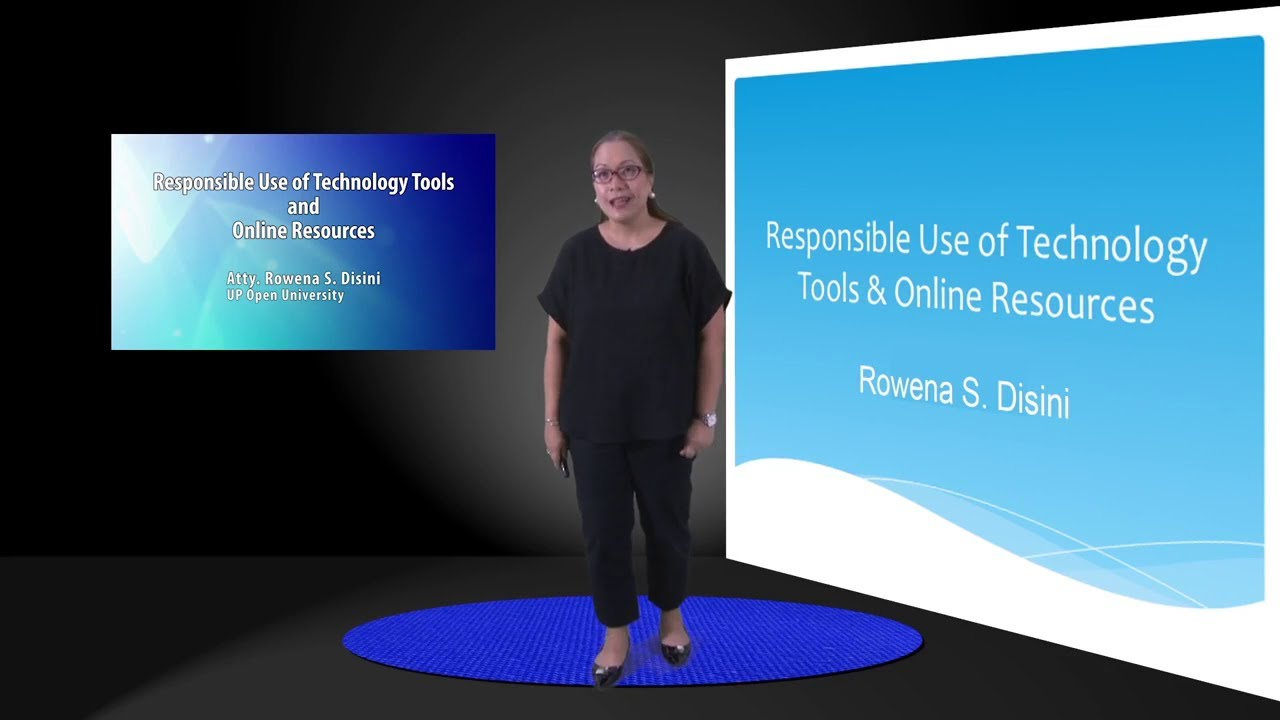 Responsible Use of Technology Tools and Online Resources | Atty. Rowena S. Disini