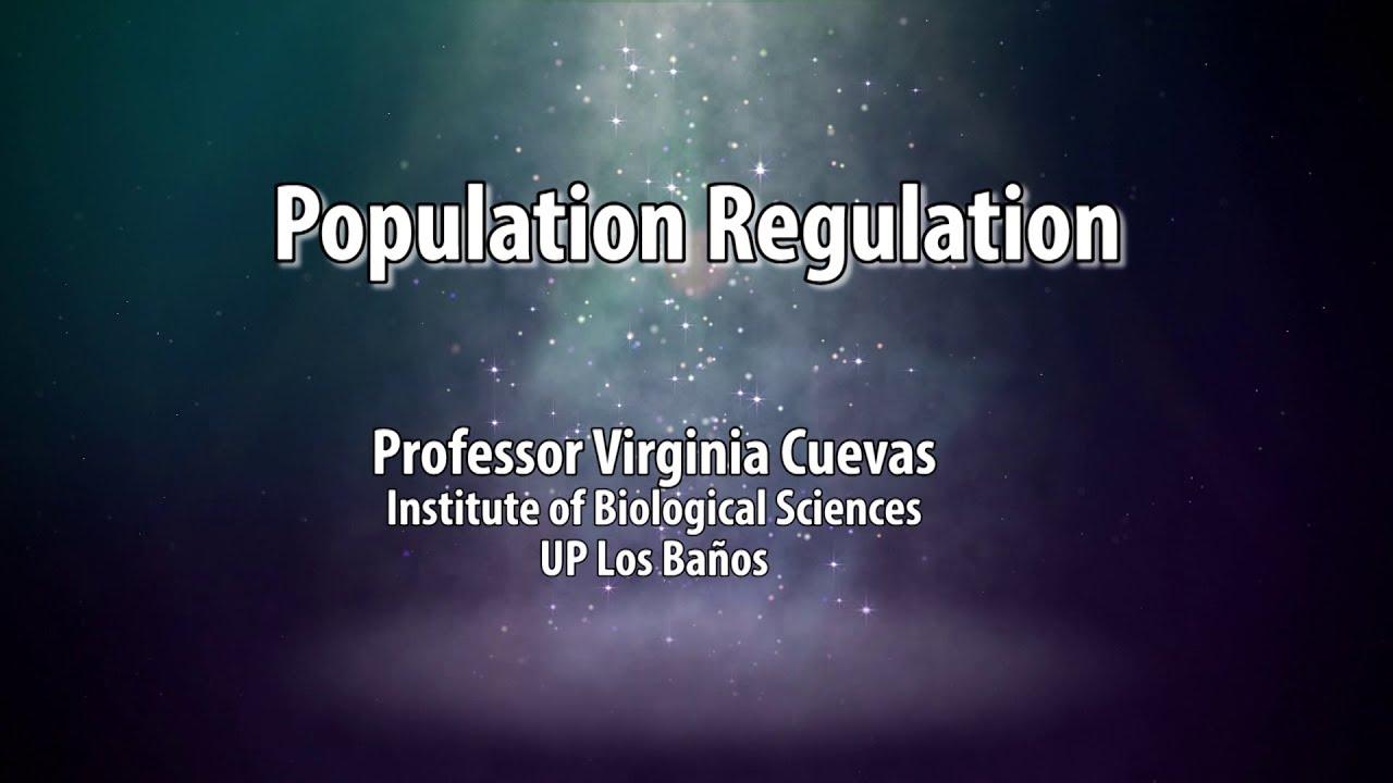 UP TALKS | Population Regulation