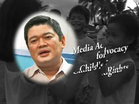Media Advocacy for Child's Rights | Mr. Julius Babao