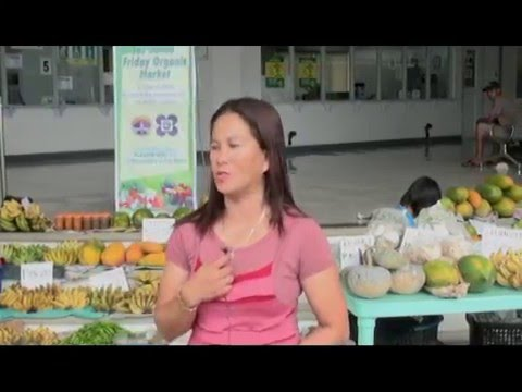 Ms. Jingle Amoloza of Los Baños Organic Friday Market