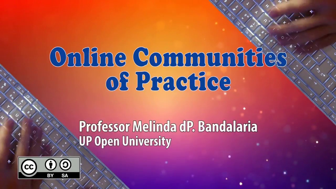 Online Communities of Practice