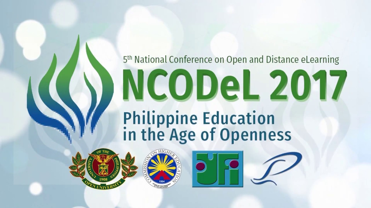 Plenary 3 – Open Education: The Philippine Initiatives (MOOCs and OERs)
