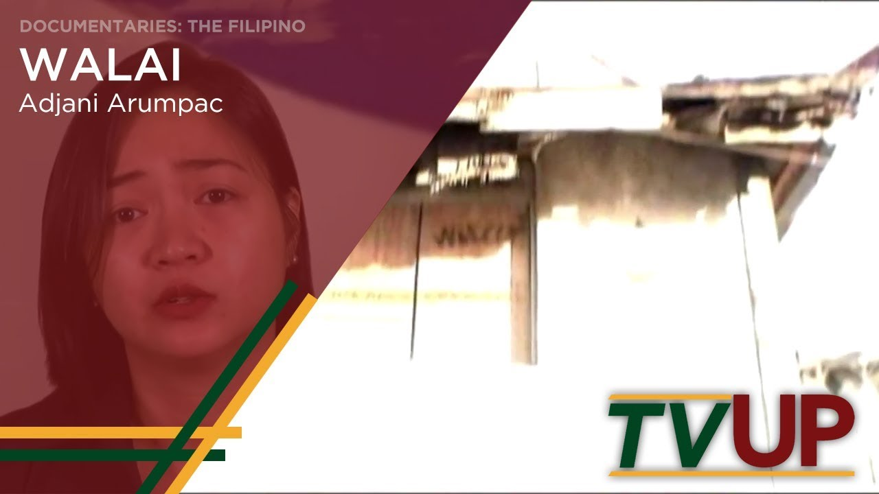 DOCUMENTARIES: THE FILIPINO | Walai | Adjani Arumpac