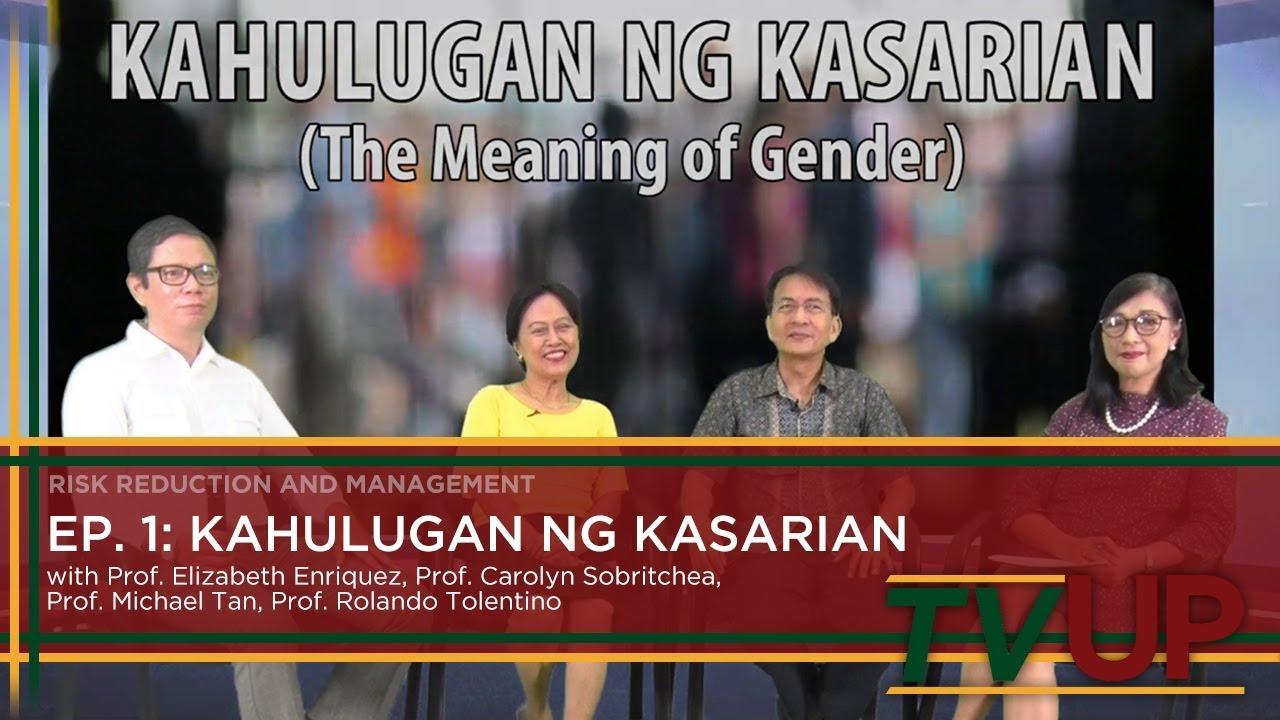 GENDER TALKS | Episode 01: Kahulugan ng Kasarian