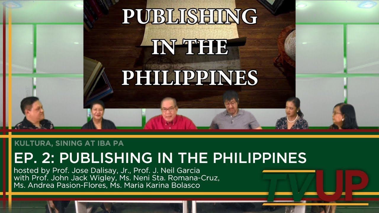 KULTURA, SINING AT IBA PA | Episode 02: Publishing in the Philippines