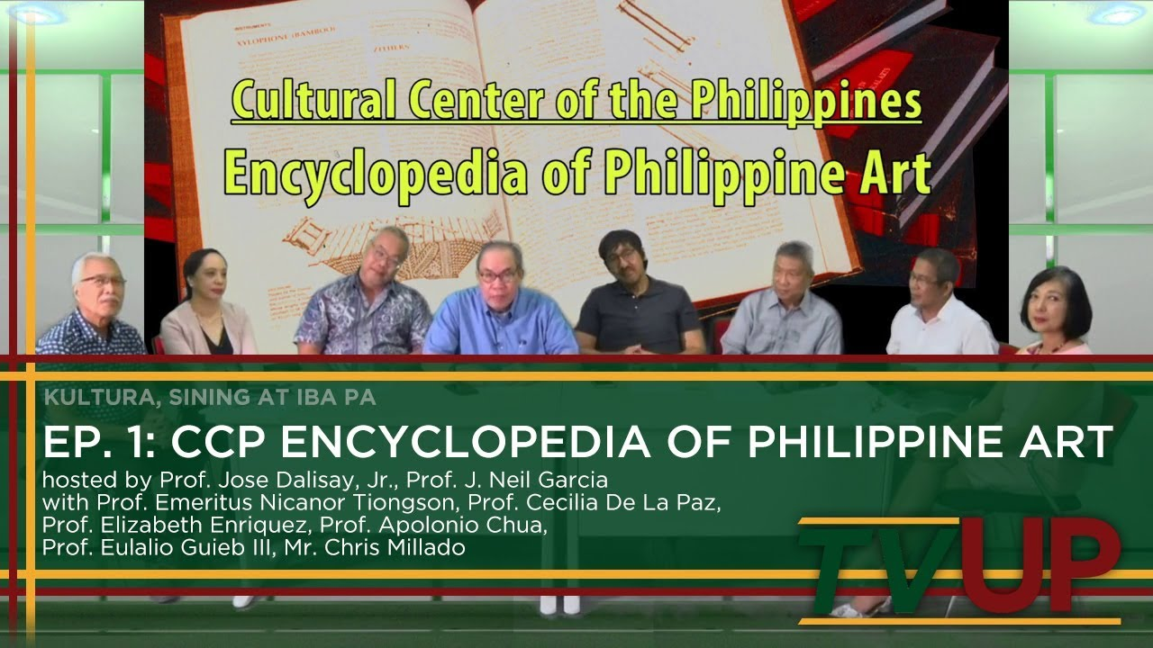 KULTURA, SINING AT IBA PA | Episode 01: CCP Encyclopedia of Philippine Art