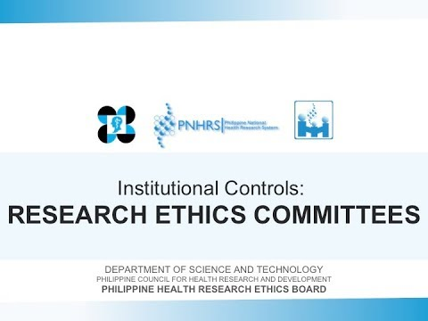 Basic Research Ethics Training: Research Ethics Committee | Prof. Fatima Castillo