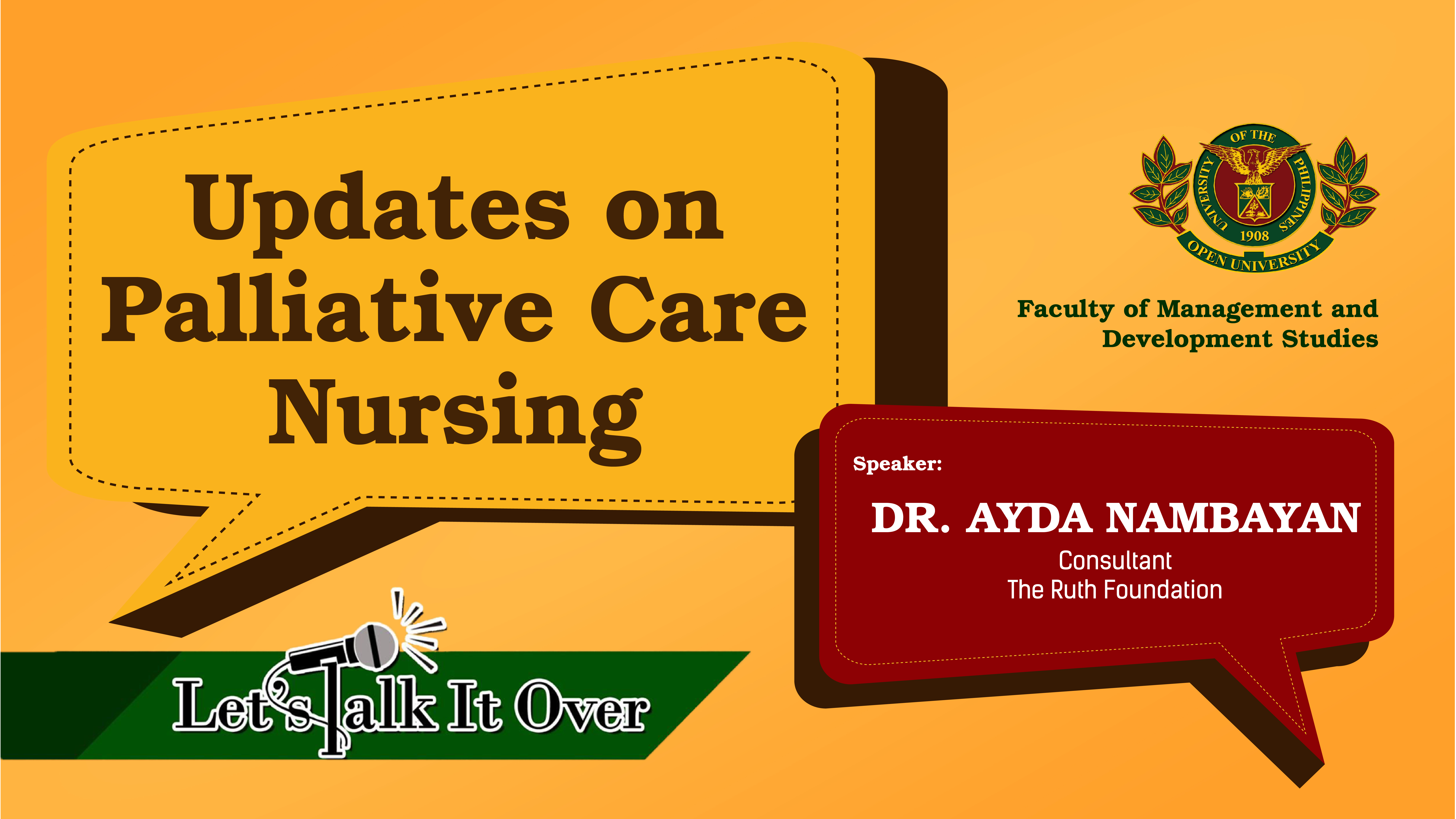 Updates on Palliative Care Nursing | Dr. Ayda Nambayan
