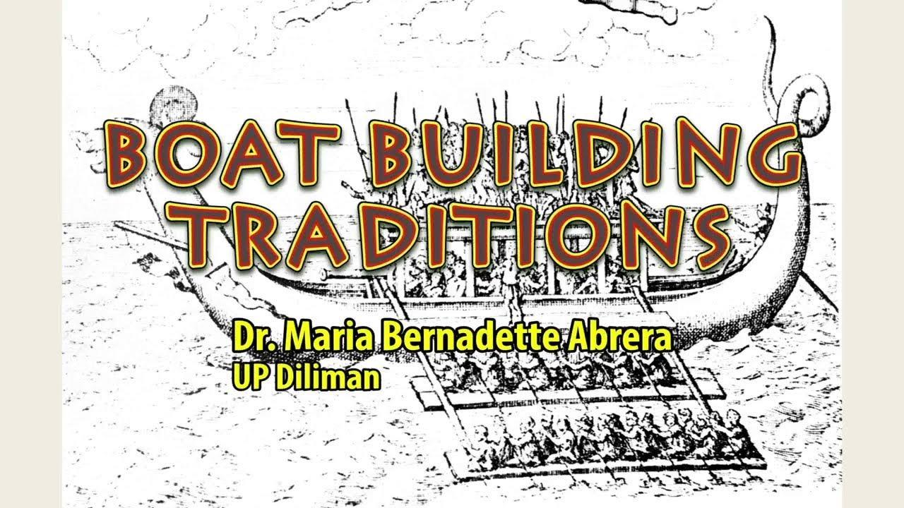 UP TALKS | Boat-Building Traditions | Dr. Maria Bernadette L. Abrera
