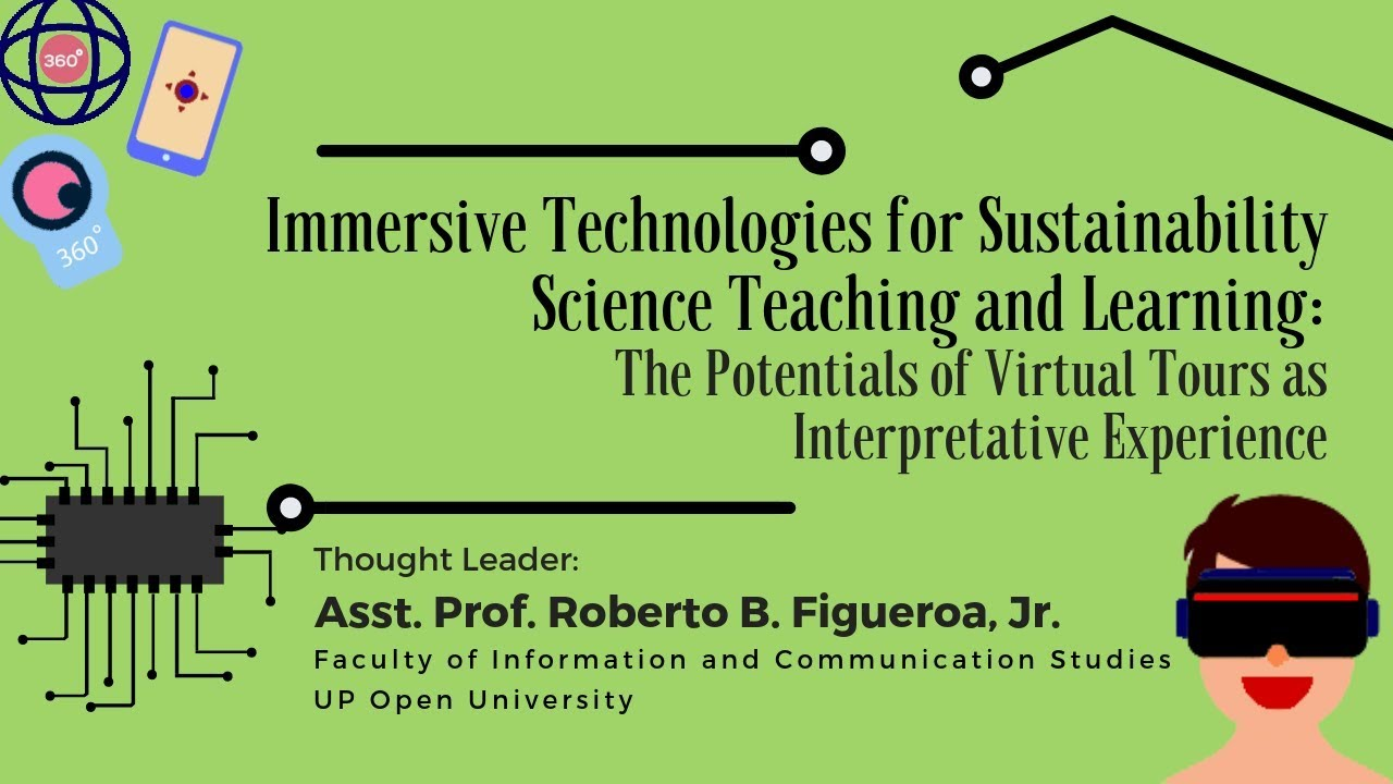 Immersive Technologies for Sustainability Science Teaching and Learning | Asst. Prof. Roberto Figueroa, Jr.