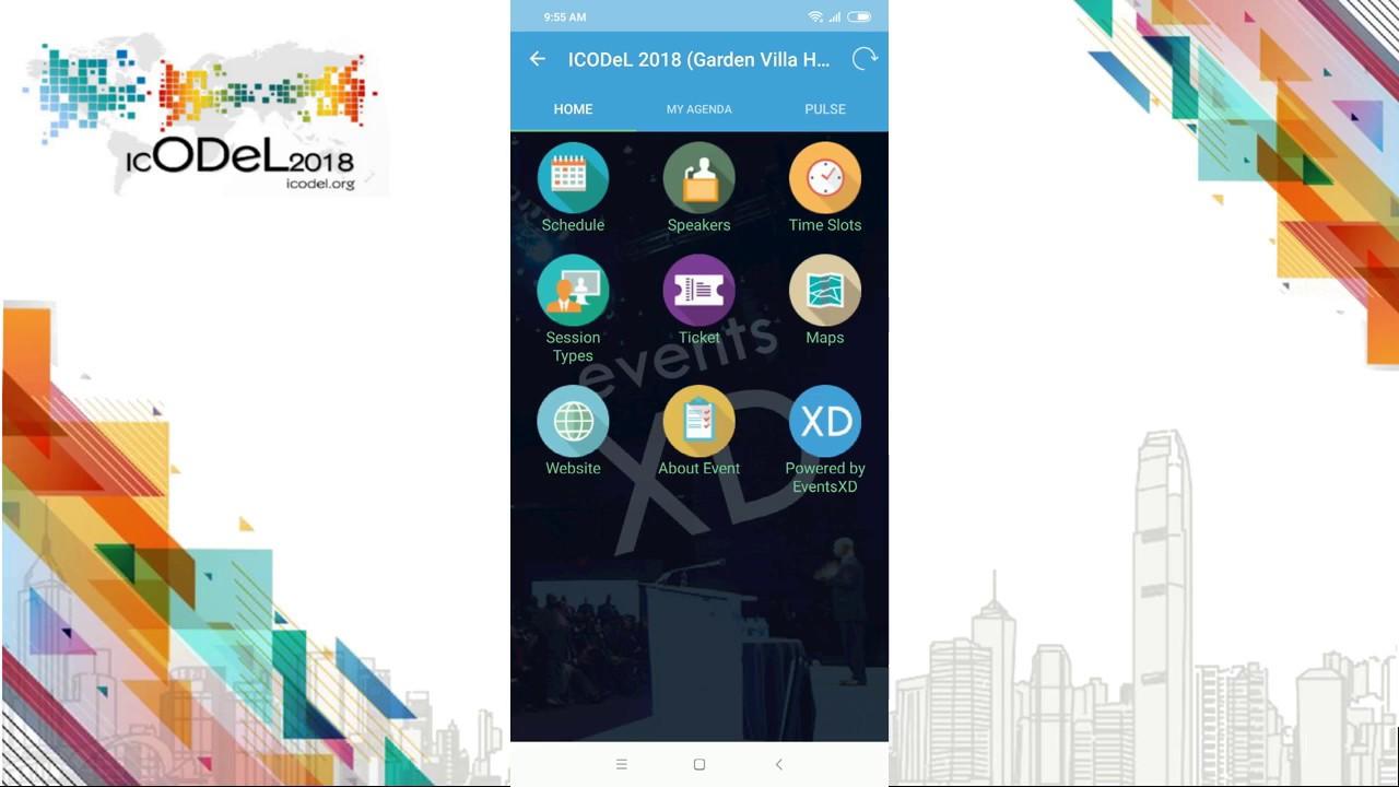 ICODeL 2018 App