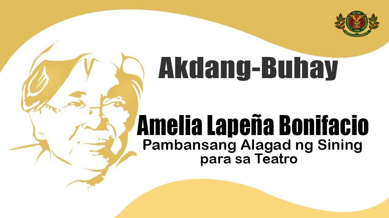Akdang Buhay | Amelia Lapena Bonifacio
