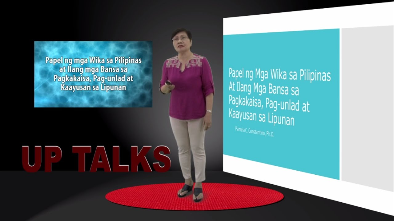UP TALKS | Marine Sponges and Climate Change | Dr. Cecilia Conaco