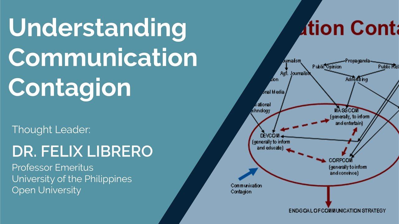 Understanding Communication Contagion | Dr. Felix Librero