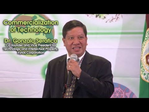 Commercialization of Technology | Dr. Gonzalo Serafica