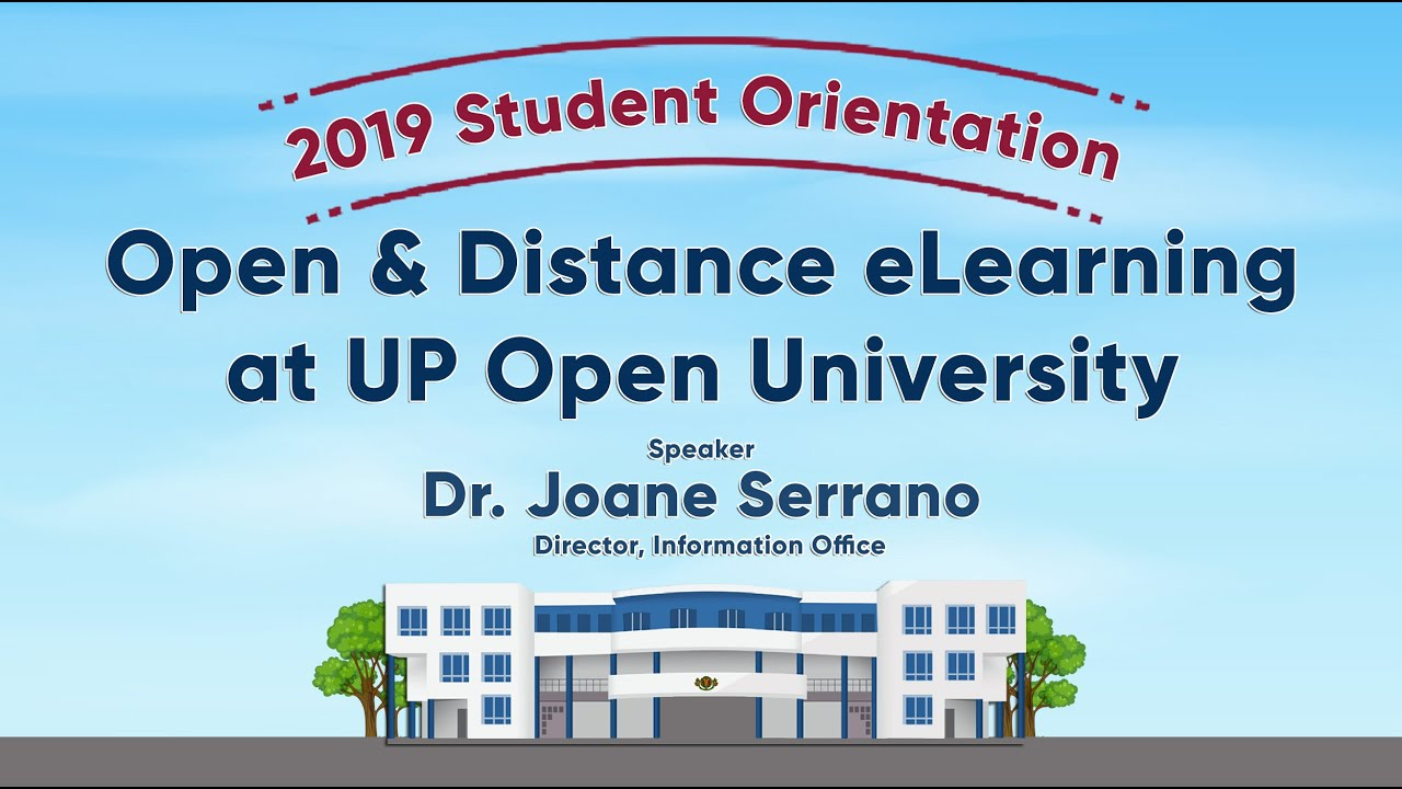 Open & Distance eLearning at UPOU | Dr. Joanne Serrano
