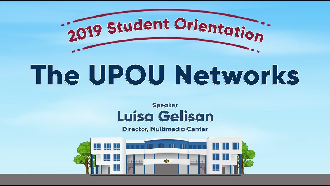 The UPOU Networks | Ms. Luisa Gelisan