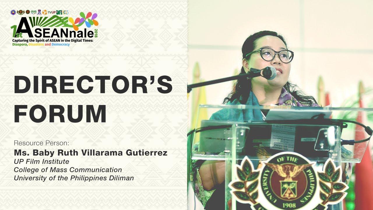 ASEANnale 2018 Director's Forum | Ms. Baby Ruth Villarama Guitierrez