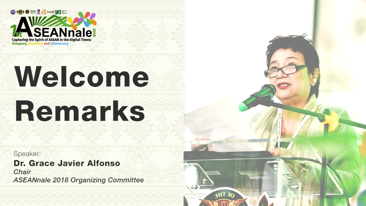 ASEANnale 2018 Welcome Remarks | Dr. Grace Javier Alfonso