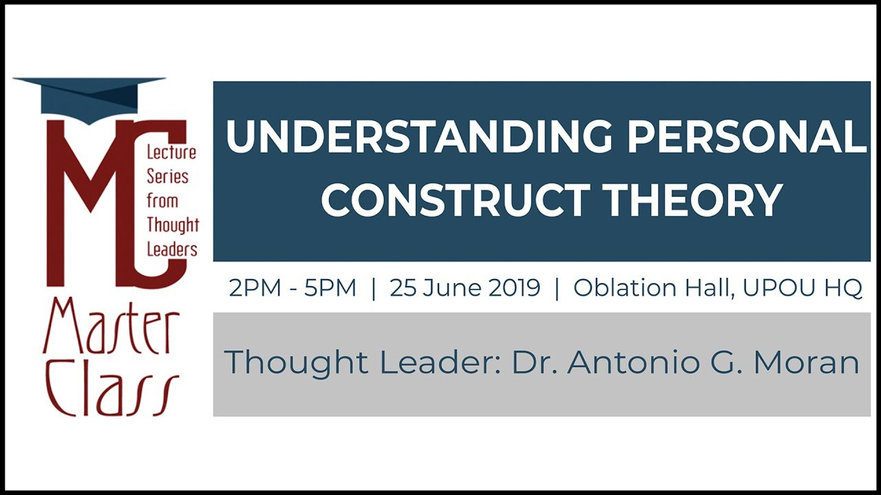 Understanding Personal Construct Theory | Dr. Antonio G. Moran