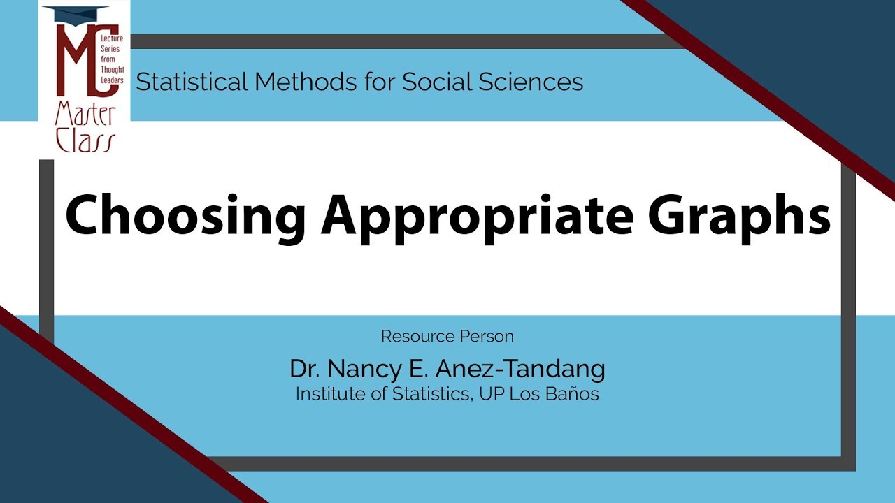 Choosing Appropriate Graphs | Dr. Nancy E. Añez-Tandang