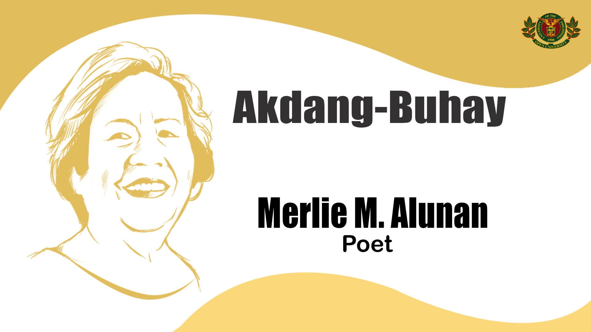 Akdang-Buhay | Merlie M. Alunan