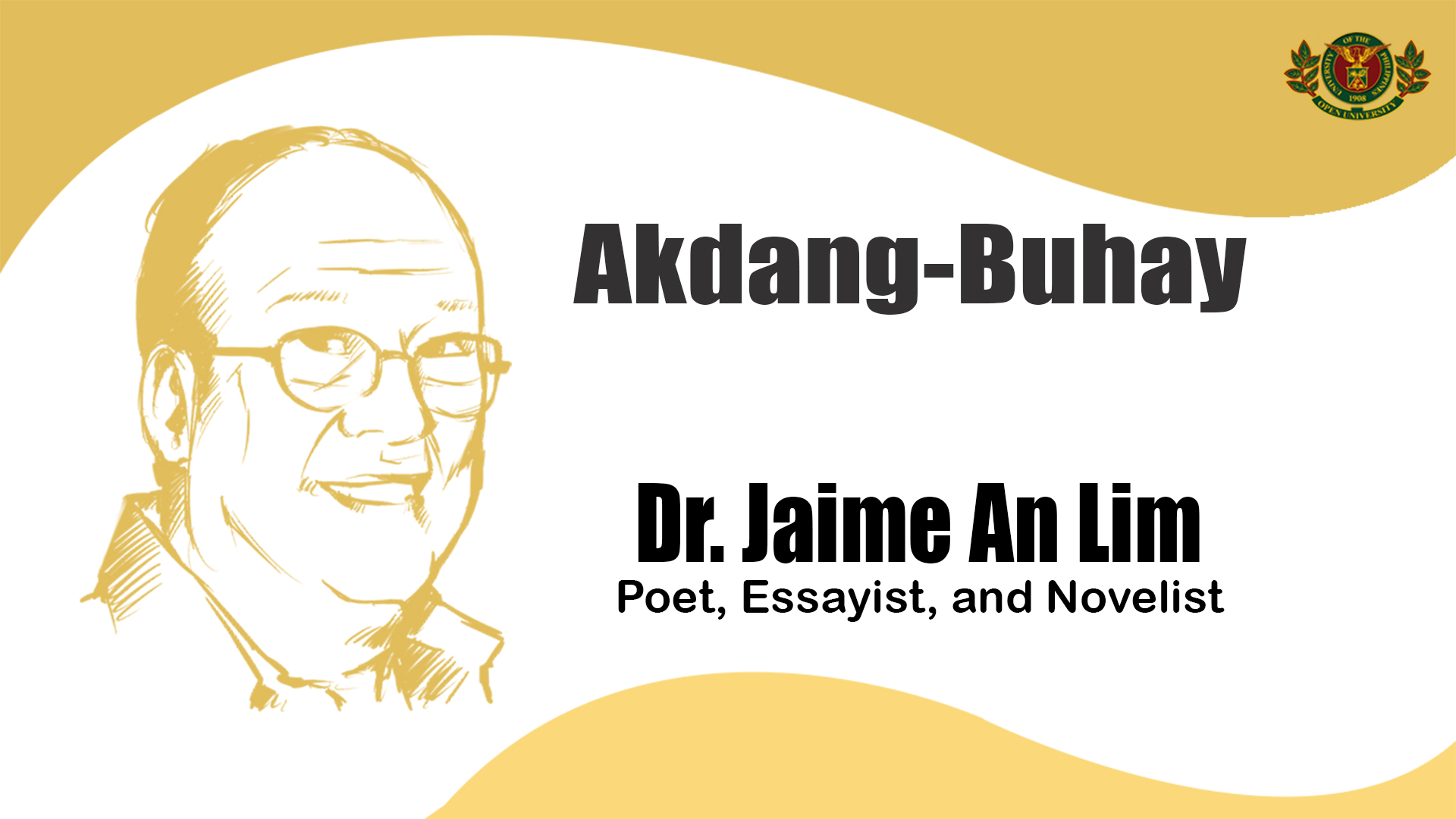 Akdang-Buhay | Dr. Jaime An Lim