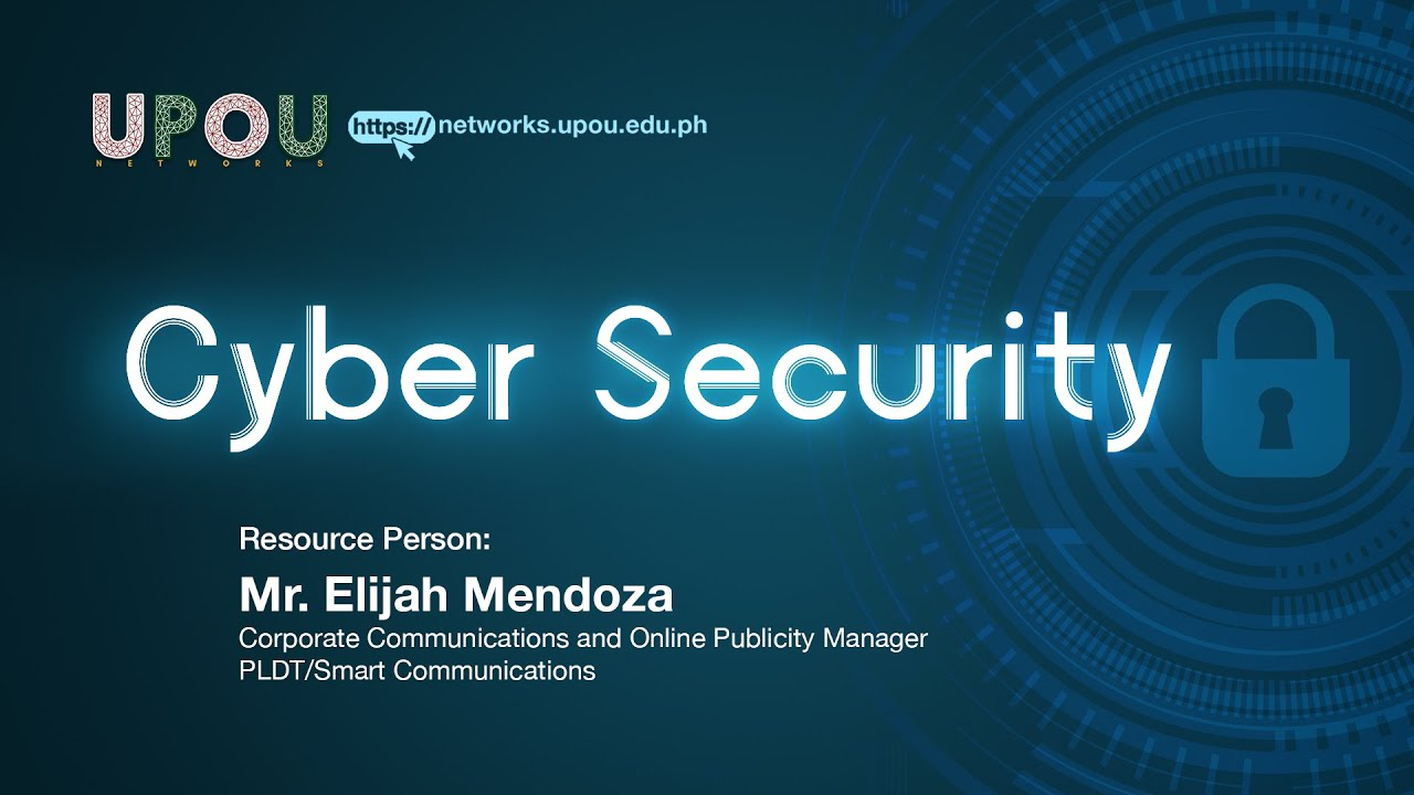 Cyber Security | Mr. Elijah Mendoza