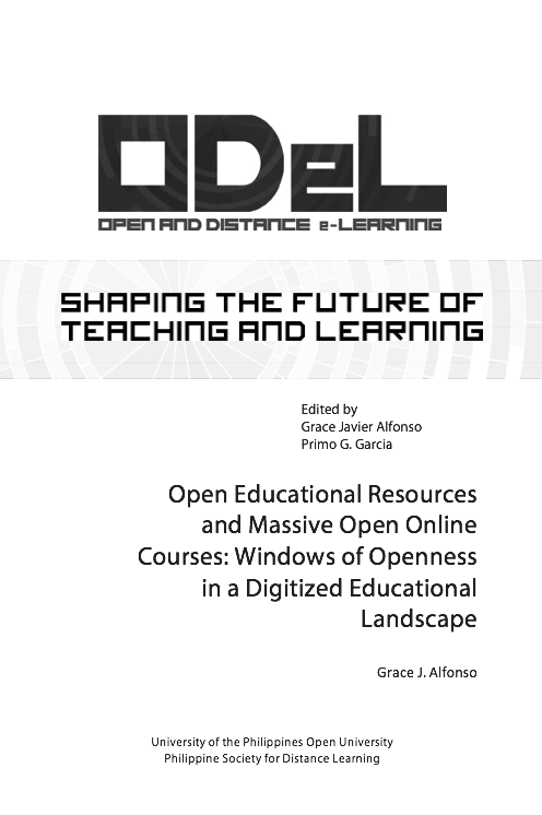 Open Educational Resources and Massive Open Online Courses: Windows of Openness in a Digitized Educational Landscape | Dr. Grace Alfonso