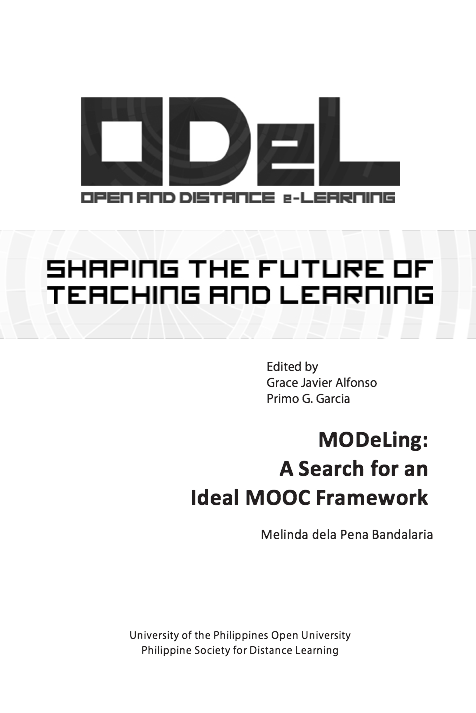 MODeLing: A Search for an Ideal MOOC Framework Melinda dela Pena Bandalaria