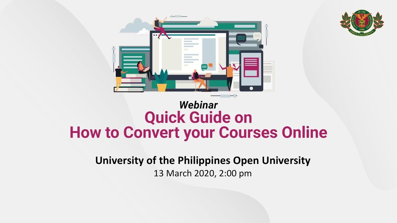 How to Convert your Courses Online