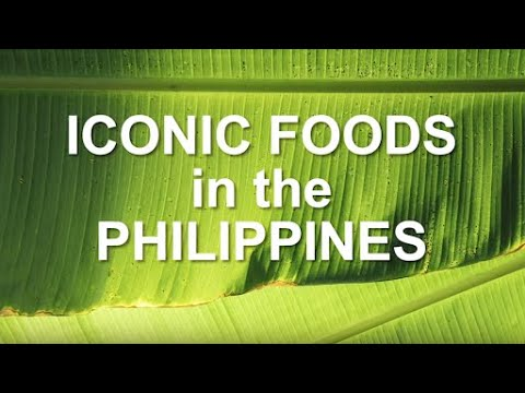 Iconic Foods in the Philippines