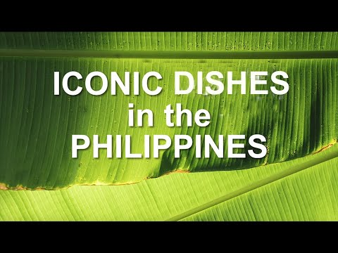 Iconic Foods in the Philippines (Cooking demo of selected Kapampangan Dishes)