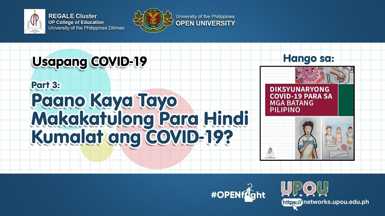 Usapang COVID 19 Part 3