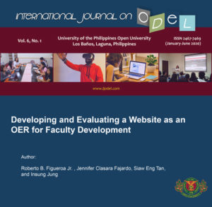 Developing and Evaluating a Website as an OER for Faculty Development