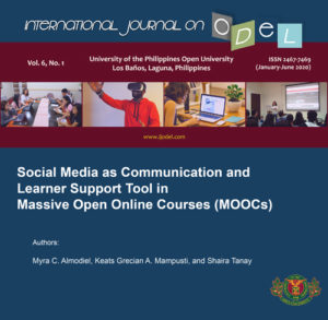 Social Media as Communication and Learner Support Tool in Massive Open Online Courses (MOOCs)