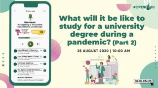 Edu-Hack: What will it be like to study for a university degree during a pandemic? (Part 2)