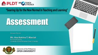 Assessment | Ms. Ana Katrina T. Marcial