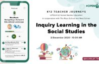 Edu-Hack: Inquiry Learning in the Social Studies