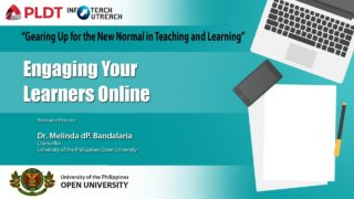 Engaging Your Learners Online | Dr. Melinda dP. Bandalaria