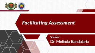 Facilitating Assessment | Dr. Melinda dP. Bandalaria